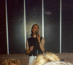 Fumble gig, early 1990s